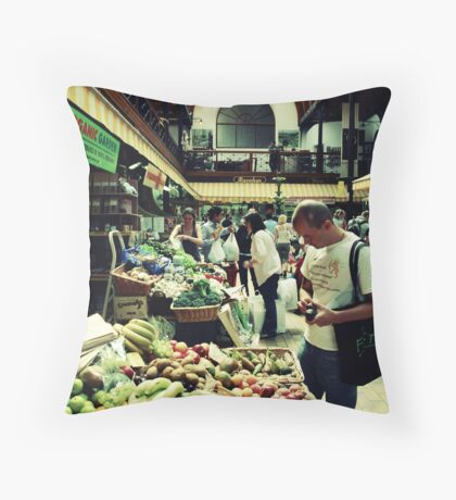 Shopping On Acid Is Never Advisable Throw Pillow
