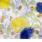 Italian ceramic inspired pattern by digestmag