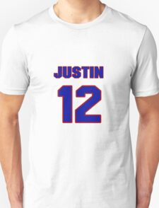 National baseball player Justin Sellers jersey 12 T-Shirt