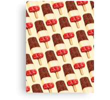 Fab Popsicle Pattern Canvas Print