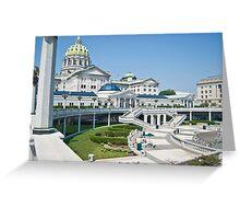 Harrisburg Capital Building Greeting Card