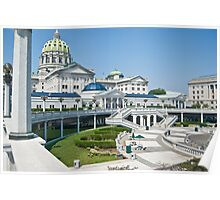 Harrisburg Capital Building Poster