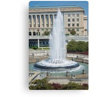 Capital Fountain Canvas Print