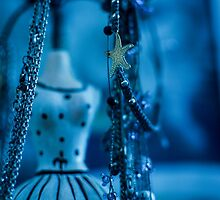 Fashion Accessories and dummies in blue  by PhotoStock-Isra