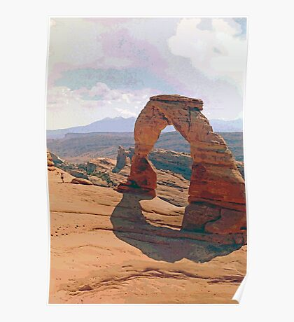 Delicate Arch (3) Poster
