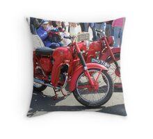 BSA Bantam  Motor Cycles Throw Pillow