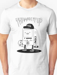 ThrashMO black and white T-Shirt