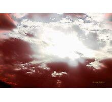 Blood Sky Photographic Print
