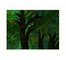 Forest Canopy - high res Art Print