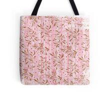 Pink Foliage Tote Bag