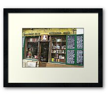 Front Page Framed Print