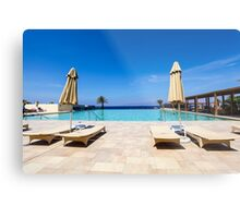 Tala Bay, Aqaba, Jordan. Luxury Beach Resort Metal Print