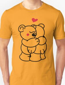 Teddys in love Unisex T-Shirt