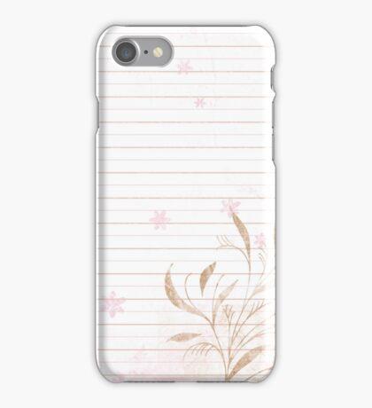 Tender Notes iPhone Case/Skin