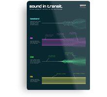 Sound in transit Metal Print