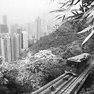 The Peak Tram, Hong Kong by Bramble