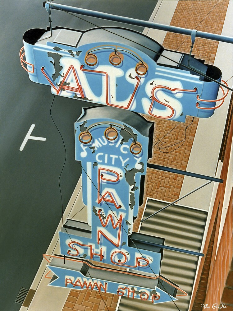 Al's Pawn Shop by Van Cordle