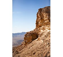 Ramon Crater in the Negev Desert, Israel Photographic Print