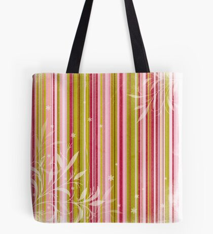 Delicate Stripes Tote Bag