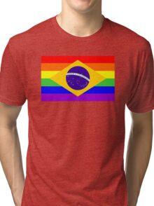 gay flag brazil Tri-blend T-Shirt