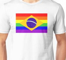 gay flag brazil Unisex T-Shirt