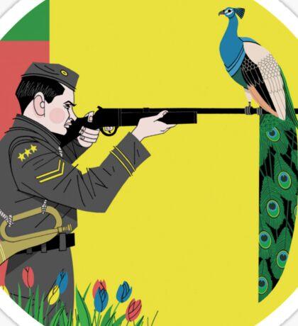 Aim and Ignite Sticker