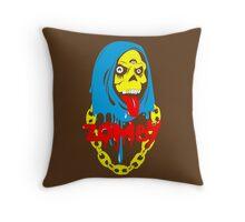 Zomby color  Throw Pillow