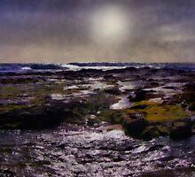 Violet Moonrise by RC deWinter