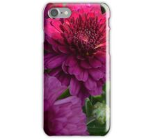 purple flower low key  iPhone Case/Skin
