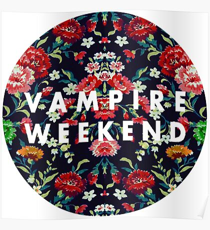 Vampire Weekend Mirrored Poster