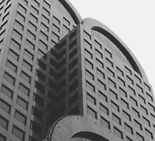 Curved Building Seattle by Hunterpike