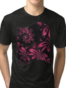 PASSION FLOWERS Tri-blend T-Shirt