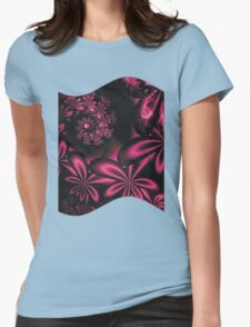 PASSION FLOWERS Womens Fitted T-Shirt