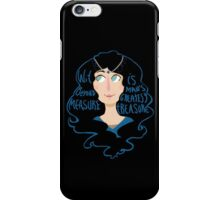 Wit beyond measure iPhone Case/Skin