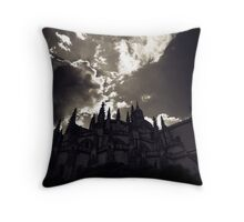 Isabelline Gothic Throw Pillow