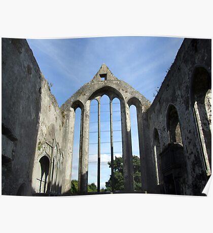 Ennis Abbey ruins Poster