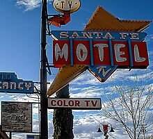 santa fe motel by andalaimaging