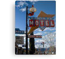 santa fe motel Metal Print