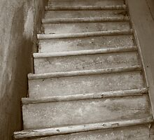 Stairway to nowhere (Châtel-Censoir - Bourgogne) by Wessel