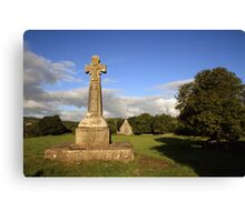 Dysert o Dea Celtic cross Canvas Print