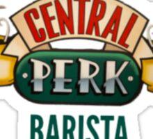 Central perk barista Sticker