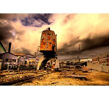 Days Gone By - Cockatoo Island - THe HDR Series Photographic Print