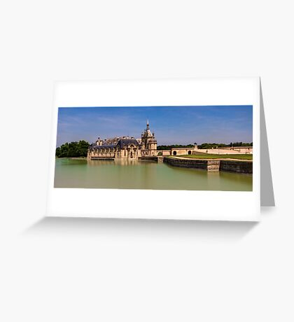 Chateau de Chantilly Greeting Card