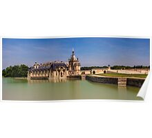 Chateau de Chantilly Poster