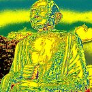 Gold Buddha Colored by Keith Richardson