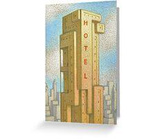 Bauhaus Hotel Greeting Card