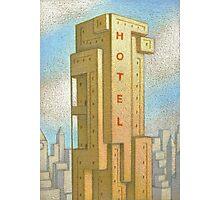 Bauhaus Hotel Photographic Print