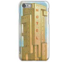 Bauhaus Hotel iPhone Case/Skin
