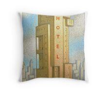 Bauhaus Hotel Throw Pillow