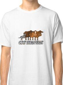 cow whisperer (herding blue heeler) Classic T-Shirt